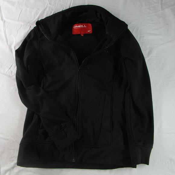 Men's O'Neill Athletic Jacket Black Sz M